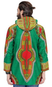 Traditional Dashiki Long Hoodie