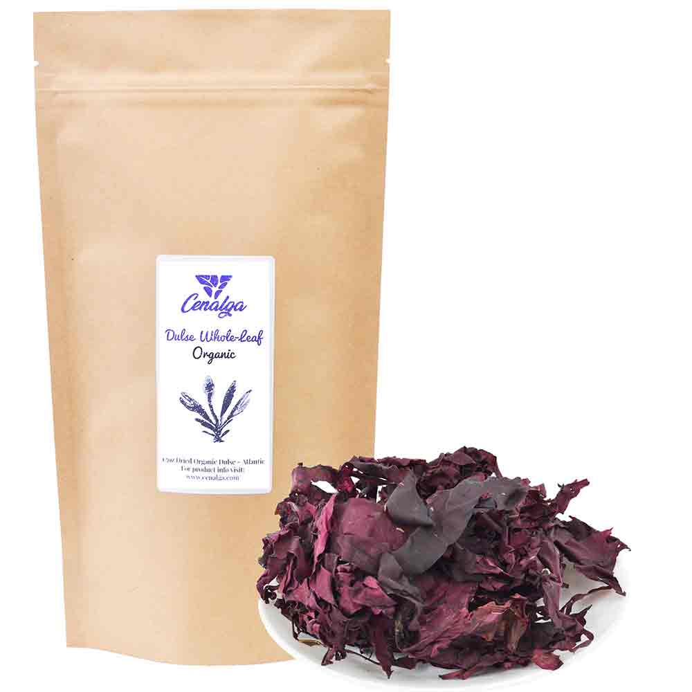 Organic Atlantic Dulse (Palmaria palmata) Whole Leaf