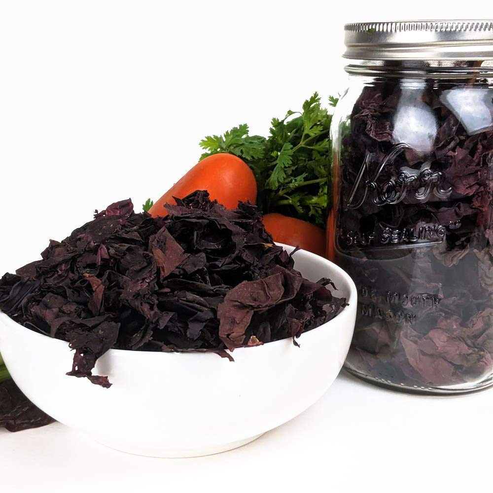 Organic Dulse (Palmaria palmata) Whole Leaf Seaweed -