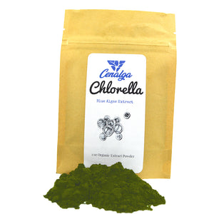 Organic Chlorella Spirulina (Blue-Green) Extract