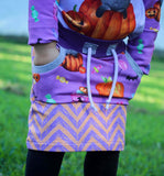 RETAIL - Halloween Happiness Chevron Coordinate