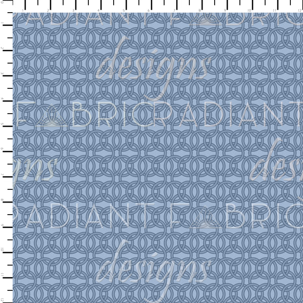RETAIL - St. George Chain Mail Blue - Radiant Beginnings