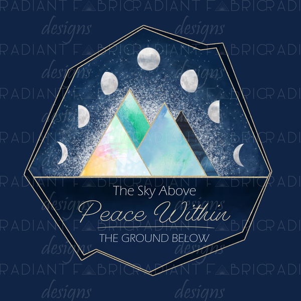 Majestic Mountains Night Panel - Radiant Beginnings Preorder