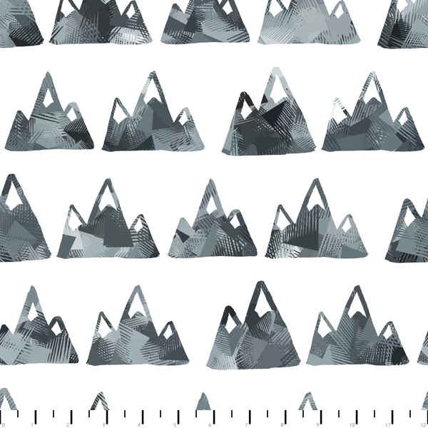 RETAIL - Mountains Pattern - Color POP!