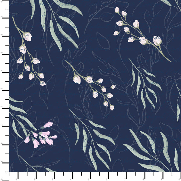 RETAIL - Navy Floral