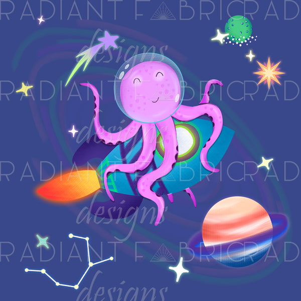 Octopus Rocket Panel - Radiant Beginnings Preorder
