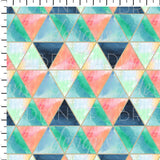 Majestic Mountains Geo Pattern - Radiant Beginnings Preorder