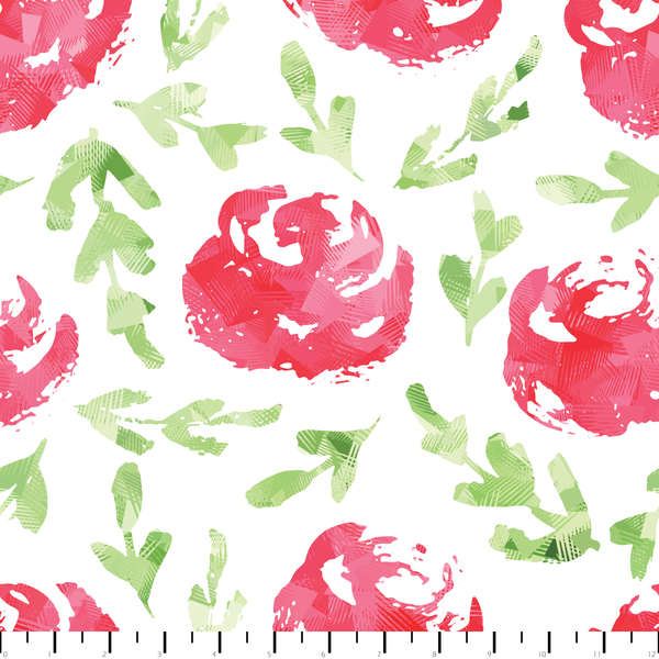 RETAIL - Radical Roses Pattern - Color POP!