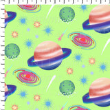 Space Animals Coordinate Green Galaxy - Radiant Beginnings - Retail