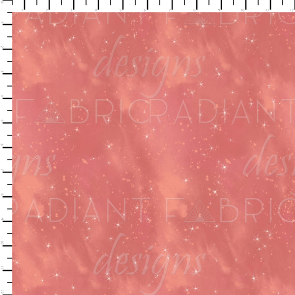 Majestic Mountains Starry Coordinate Coral - Radiant Beginnings Preorder