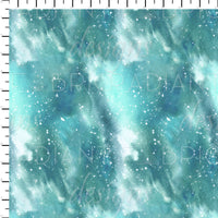 Majestic Mountains Starry Coordinate Teal - Radiant Beginnings Preorder
