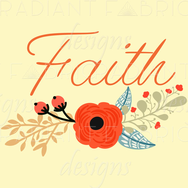 RETAIL - The Greatest of These Faith Panel - Radiant Beginnings