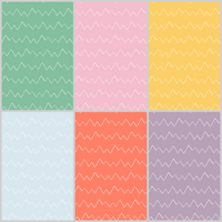 ZigZag Coordinate - Painterly Playtime