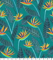 PREORDER Bird of Paradise Teal - Birds of South Africa