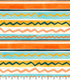 PREORDER Friendly Gouache Bees Stripes Peach & Mint - Bees and Such