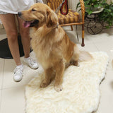 White_Paw® Soft Plush Orthopedic Dog Mat