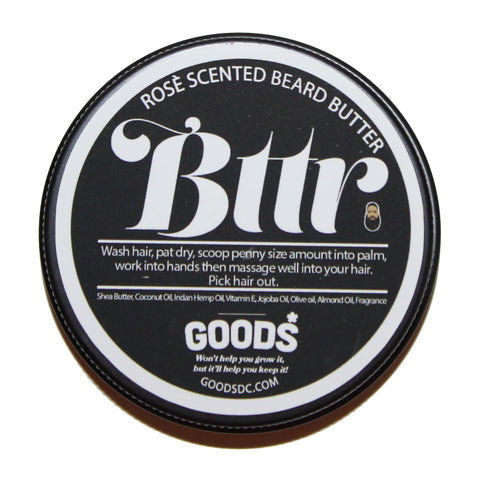 BTTR BEARD BUTTER (2 OZ.)