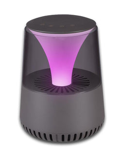 Mood Light + Speaker Air Purifier Pink Light