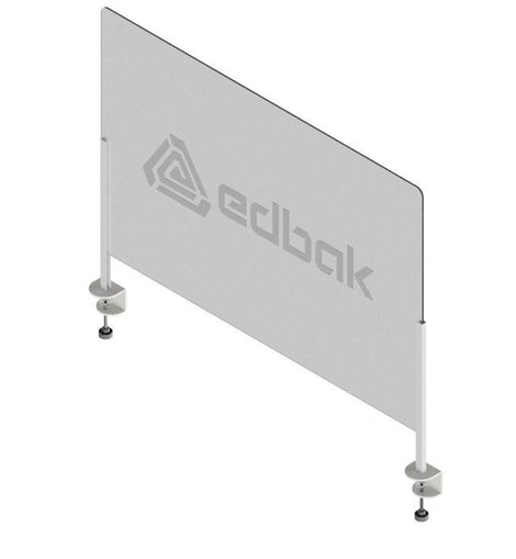 Edbak Protective Pro Screen Plexiglass With Desk Clamps