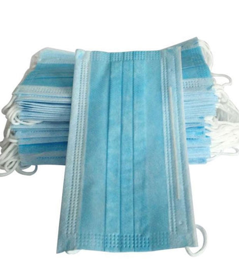 breathable nonwoven face masks 3 layer protection