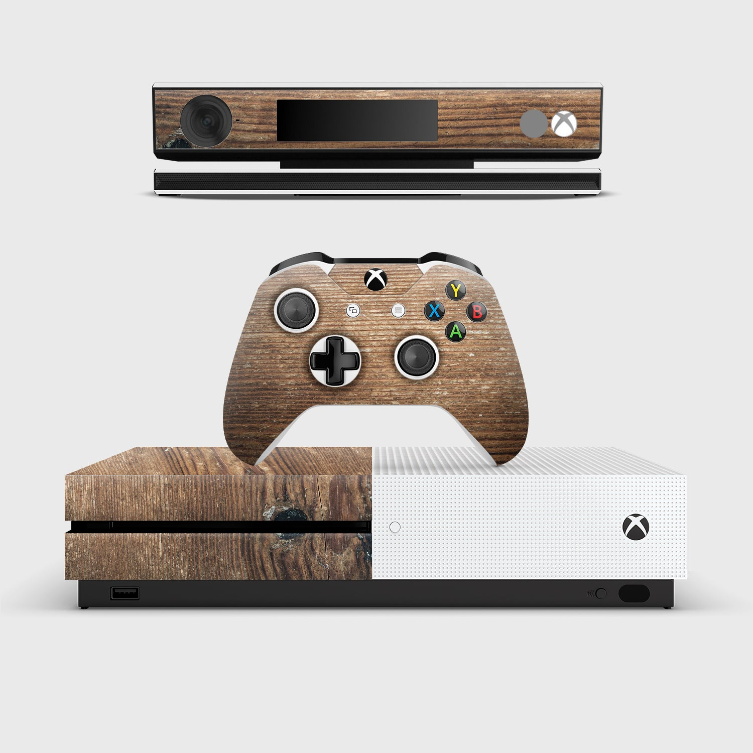 BOIS DE PIN Stickers Autocollants Xbox one | Pigtou