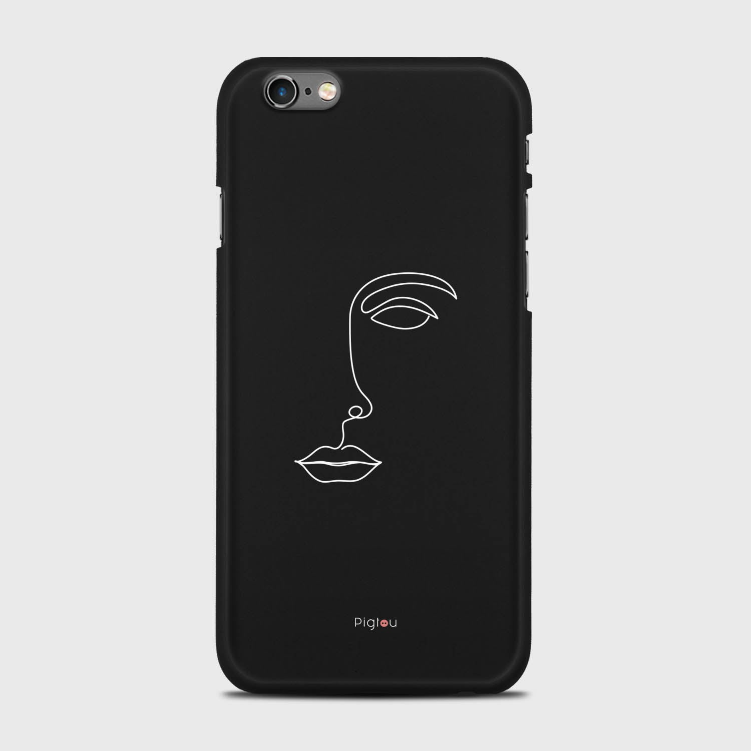 Silhouette De Visage Coque Iphone 6
