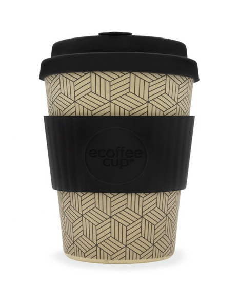 Ecoffee cup: 12oz - 340ml - Turtlee Green