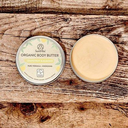 Suntribe - Organic Body Butter - Grapefruit (150ml) - Turtlee Green