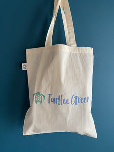 Tote Bag: Organic & FairTrade - Turtlee Green