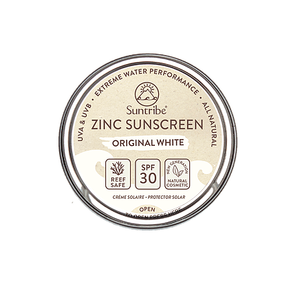 Suntribe: Zonnencrème Face & Sport (SPF 30) - Wit - Turtlee Green