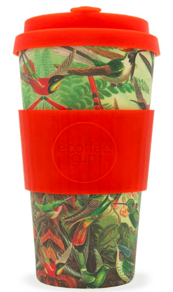 Ecoffee Cups: 16oz - 475 ml - Turtlee Green