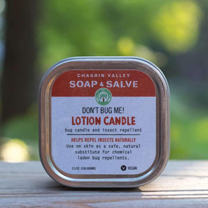 Soap & Salve: Bug Repellent Candle - Turtlee Green