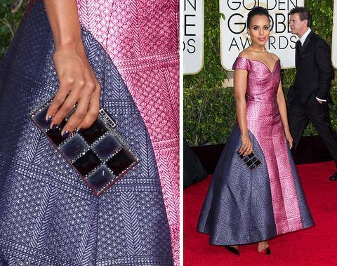 Sherene Melindas favourite bags at the Golden Globes