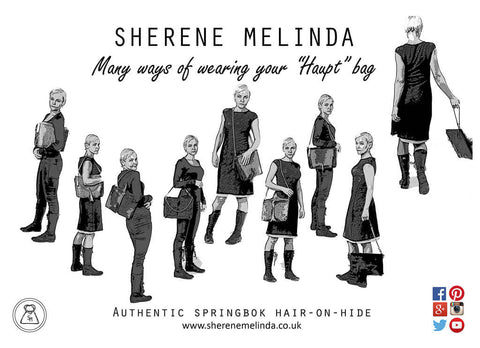 Sherene Melinda and the many ways you can wear your Multiway Handbag