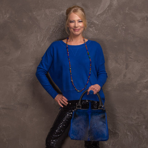 Sherene Melinda Springbok Handbags, contemporary London designer