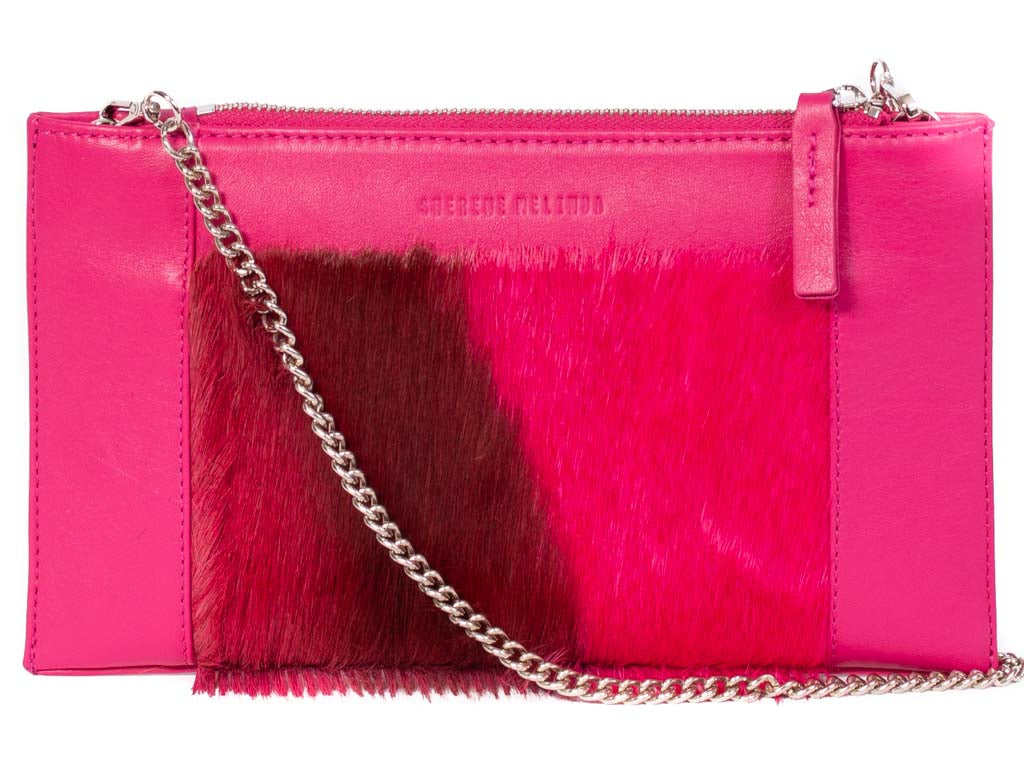 Clutch 2020 Fuchsia with a Stripe