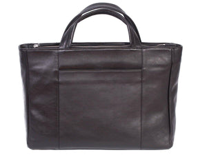 Tote Springbok Handbag in Black by Sherene Melinda Back