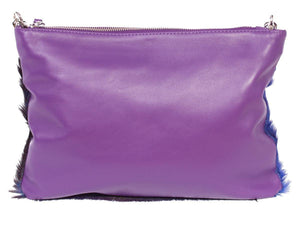 Multiway Springbok Handbag in Violet with a Stripe by Sherene Melinda Back
