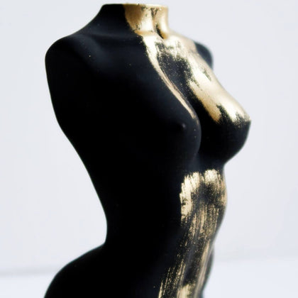 Athena Truffle sculpture Gold