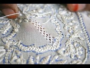 All about Chikankari...Behind the scenes.....