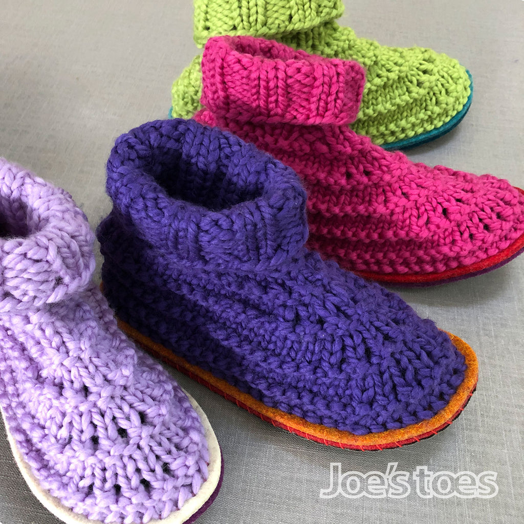 Joe's Toes Snuggly Slipper Knit Kit