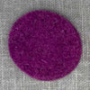 Joe's Toes felt circle with stitch holes purple