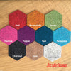 Thick Wool Felt Hexagons - Joe's Toes  - 3
