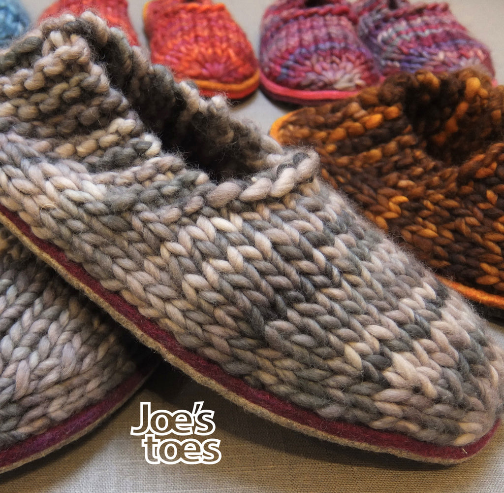 Sam Slipper Kit WITHOUT the yarn
