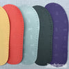 Joe's Toes Vibram rubber soles in five colours