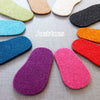 Thick Felt Soles - UK baby and child sizes - Joe's Toes  - 3