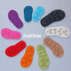 Thick Wool Felt Soles with Latex Grip - UK baby and child sizes - Joe's Toes  - 1