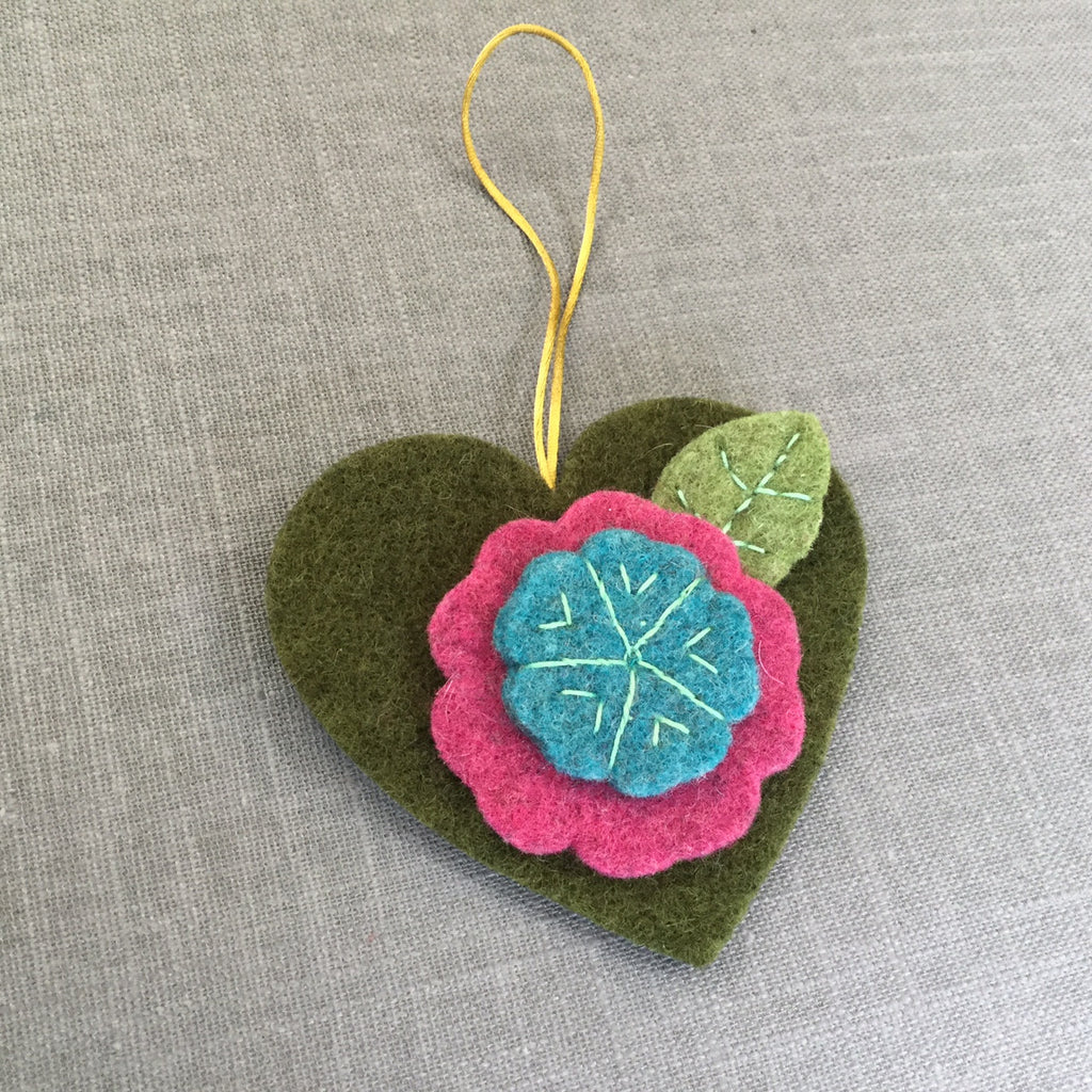 Hanging Heart Ornament Kit