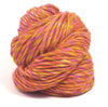 Super Chunky Merino and Merino/Silk Roving Yarns 200g hanks - Joe's Toes Fruit Salad Silk-Merino - 13