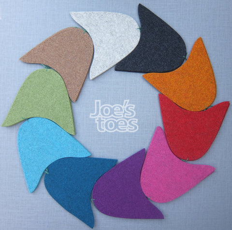 Joe's Toes Slipper Tops  - UK Sizes